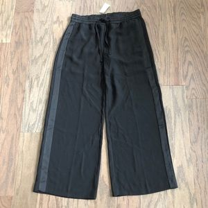 Banana Republic Pants - Banana Republic Super Wide Leg Side Stripe Pants